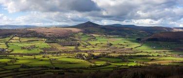 Гора Уэльс Sugarloaf стоковые фотографии rf