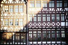 Гора Франкфурт исторических зданий римская стоковое фото
