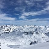 гора Франции Стоковое Изображение RF