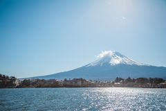 Гора Фудзи, Jpaan Стоковая Фотография RF