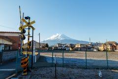 Гора Фудзи в Японии Стоковые Фотографии RF