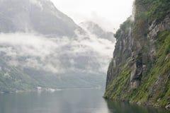 Гора фьорда Стоковое Изображение