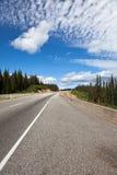 гора хайвея Стоковые Фото