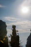 Гора Хунани Zhangjiajie национальная Forest Park Yangjiajie, Стоковое Изображение RF