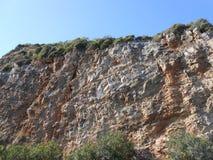 Гора цвета с голубым небом Стоковая Фотография