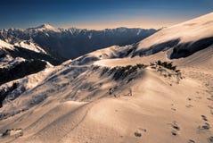 гора цвета Стоковая Фотография RF