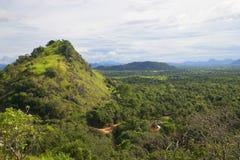 Гора Цейлон после дождя ashurbanipal стоковое фото