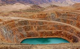 гора шахты clark Стоковые Изображения RF