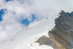 Гора Швейцария Titlis Стоковое Изображение RF