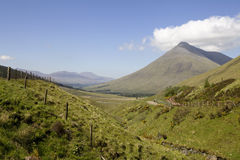 гора Шотландия dorain beinn Стоковое Фото