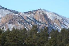 Гора шрама ожога Колорадо Стоковое фото RF