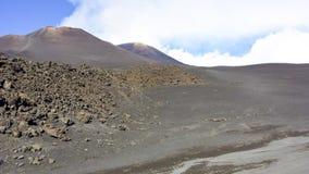 Гора Этна Стоковые Изображения RF