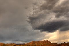 гора 108 пустынь Стоковые Фото