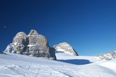 гора 11 dachstein Стоковое Изображение
