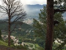 Гора Abbotabad Shimla Стоковое фото RF