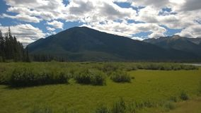 Гора Banff Стоковая Фотография RF