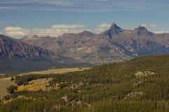 гора beartooth Стоковое фото RF