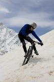 гора bike Стоковые Изображения