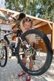 гора bike Стоковое фото RF