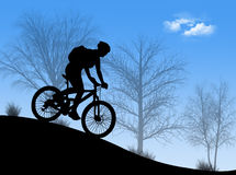 гора bike Стоковые Изображения RF
