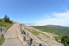 Гора Cadilac стоковая фотография rf