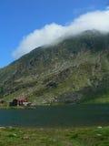 гора chalet стоковая фотография
