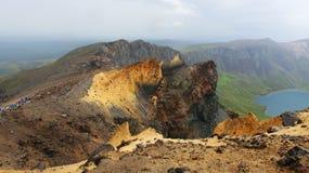 Гора Changbai Стоковые Изображения RF