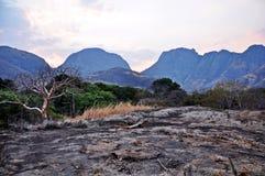 Гора Che Che, Niassa, Мозамбик Стоковое фото RF