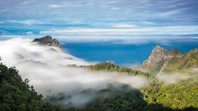 Гора Chiang Dao, Чиангмай, Таиланд Стоковая Фотография RF