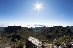 Гора Chirripo Стоковое фото RF
