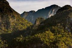Гора Doi Luang, Chiang Dao, Таиланд Стоковые Фотографии RF