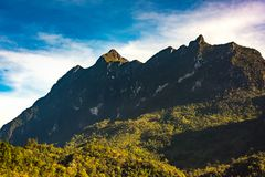 Гора Doi Luang, Chiang Dao, Таиланд Стоковое Фото