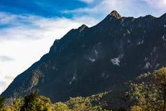 Гора Doi Luang, Chiang Dao, Таиланд Стоковая Фотография