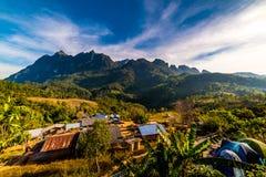 Гора Doi Luang, Chiang Dao, Таиланд Стоковое Изображение RF