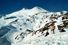 гора elbrus Стоковое Изображение