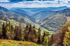 Гора Feldberg весной Стоковая Фотография RF