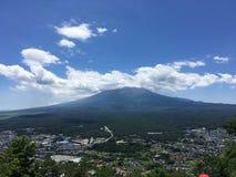 гора fuji японии Стоковое Изображение