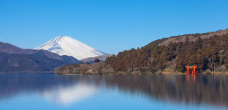 гора fuji стоковое фото rf