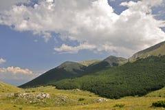 гора galicica Стоковое Изображение RF