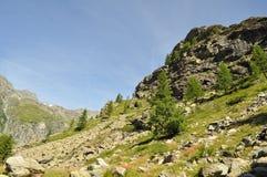гора gennargentu Стоковые Изображения