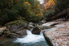 Гора Guangwu в осени Стоковое фото RF
