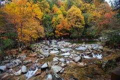 Гора Guangwu в осени Стоковое Изображение