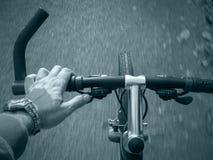 гора handlebar bike Стоковые Фото