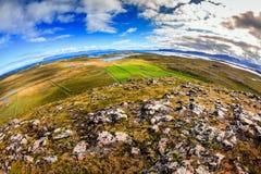 Гора Helgafell Стоковое Изображение RF