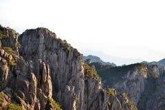 Гора Huangshan желтая в Аньхое, Китае, всемирном наследии ЮНЕСКО стоковое фото