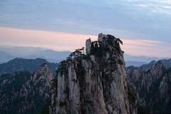 Гора Huangshan, Китай Стоковое фото RF