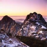 гора huangshan Стоковая Фотография