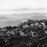 гора huangshan Стоковые Изображения