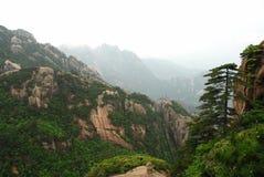 гора huangshan Стоковая Фотография RF