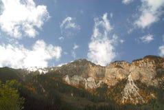 гора jiuzhaigou Стоковая Фотография